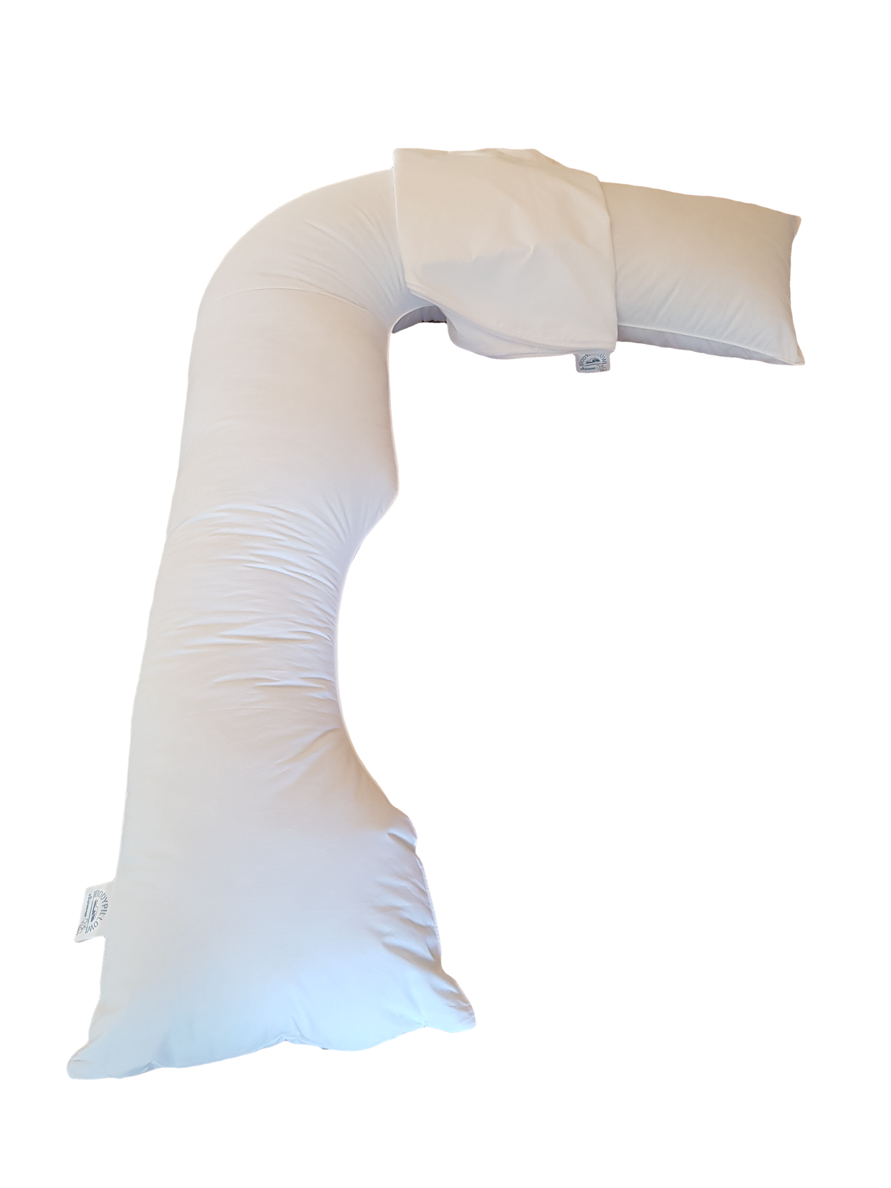 [ Snugg'L - R1499 ] Another of the larger Bodypillows in the range with an overall length of over 2 meters. It can provide full body support pre and postnatal.
